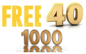 Free40 in Gold 1000